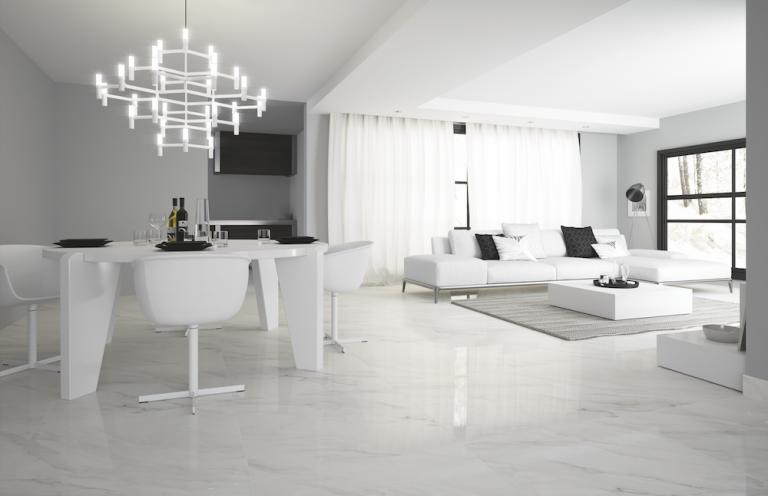 Ambiente Porcelanato Calacatta Bianco 80x80