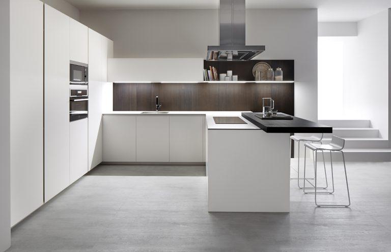 Cocina 1 S45 Blanco Fenix