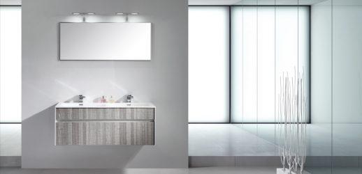 Conjunto De Baño S-1200 120x50x45 MDF