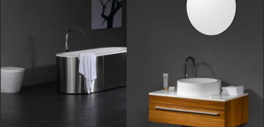 Conjunto de baño O-900-1 S-Grey 90x50x30 MDF