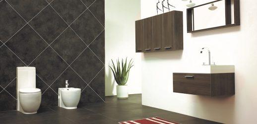 Conjunto de Baño T 730 Brown Con Espejo