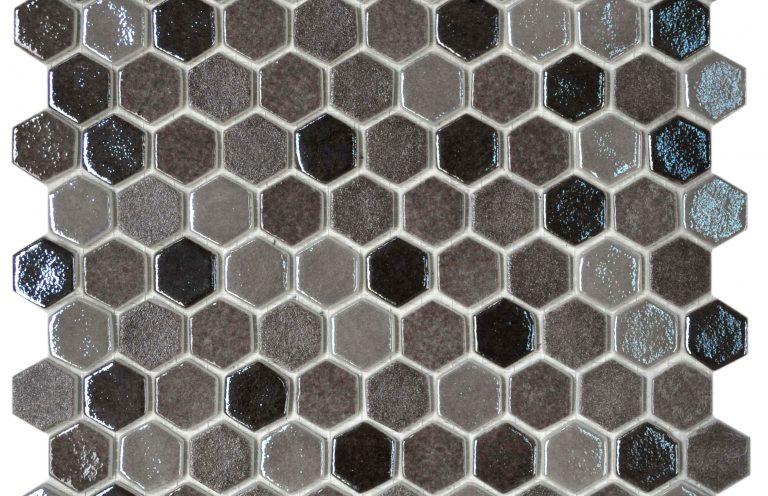 Mosaico Hexagon Blend Tan Cristal 2.5x3.1x4.4 (29x30.1)