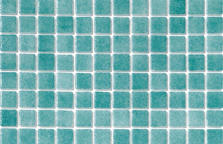 Mosaico Niebla Verde Turquesa Cristal Ref. MS3007 2.5x2.5x8 (31.6x31.6)