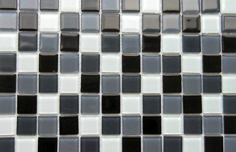 Mosaico Praga Negro Cristal 2.3x2.3x4 (30x30)