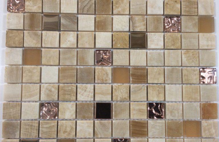 Mosaico Solar Cristal-Marmol 2.3x2.3x8 (30x30)