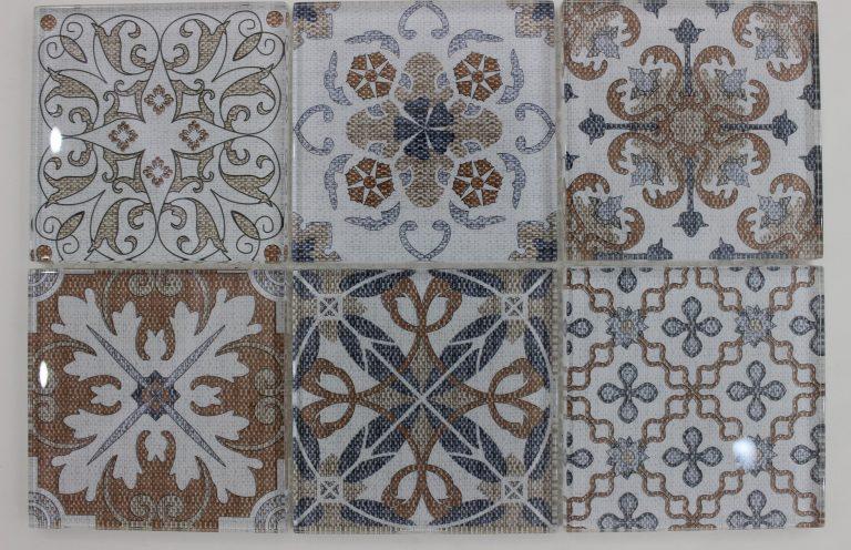 Mosaico Talavera Cristal 4.8x4.8x8 (30x30)