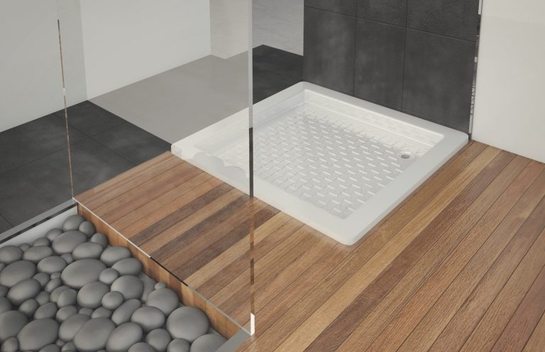 Plato ducha cuadrado 80x80