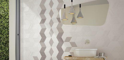 Porcelanato Rhombus White 14x24