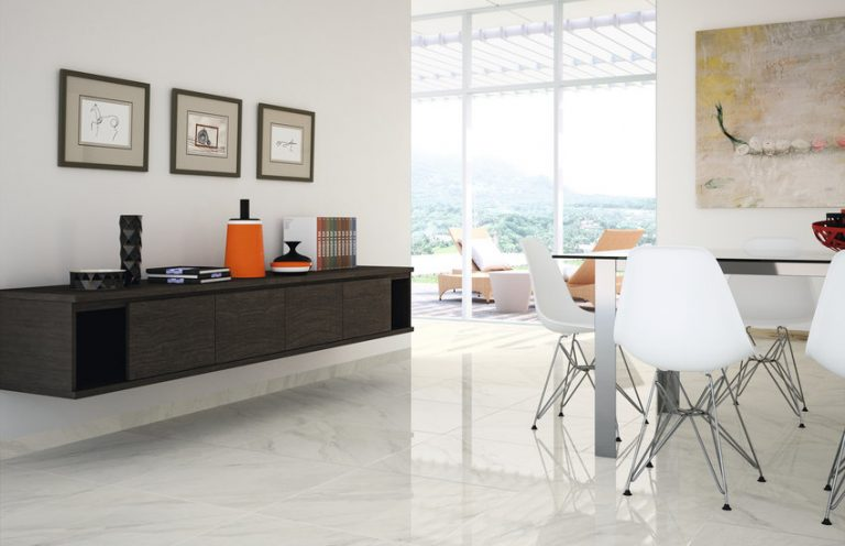 Porcelanato Calacatta Bianco 80x80-La Iberica