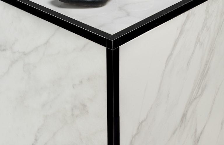 Perfil N-Listel Negro Mate Aluminio 12x2500