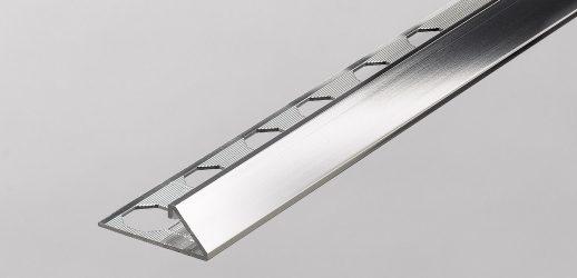 Perfil Anodizado Espejo Aluminio